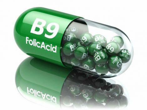 Симптоми нестачі фолієвої кислоти