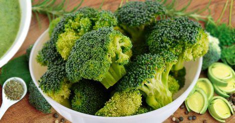 Багато вітаміну К міститься у броколі