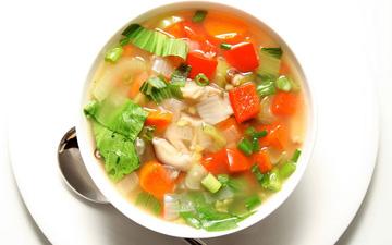 найкраще обирати овочеві супи