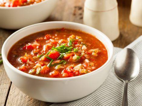 Іспанський часниковий суп для зміцнення імунітету