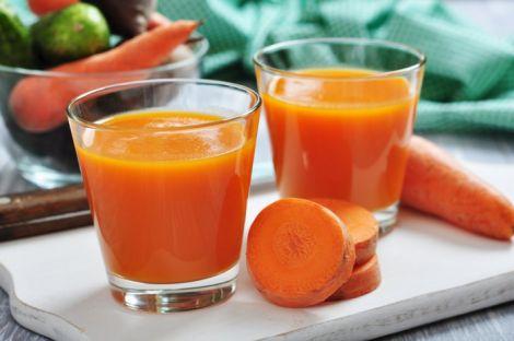 Морквяний сік для організму малюка