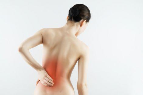 Перші симптоми раку хребта