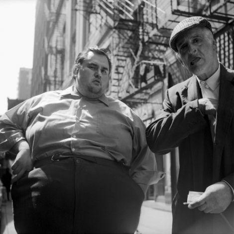 товстий чоловік