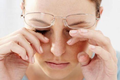 Синдром сухого ока
