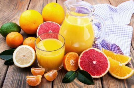 Вітамін С міститься у цитрусових фруктах