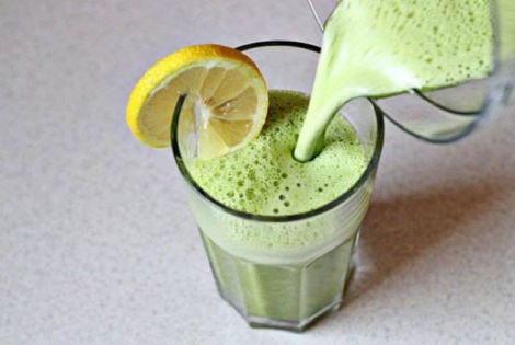 Зелений коктейль для схуднення