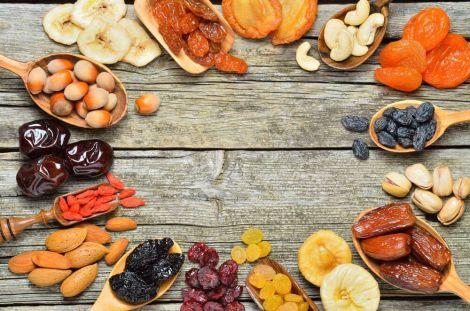 Заміна фруктів сухофруктами