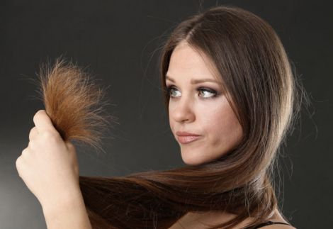 Посічені кінчики волосся