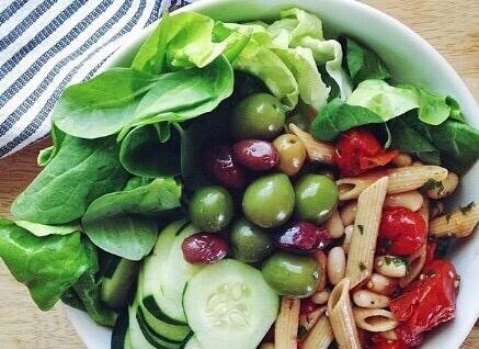 Не забувайте про овочі та фрукти