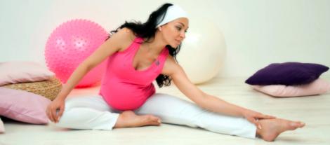 Заняття спортом під час вагітності корисно впливають на розвиток малюка.