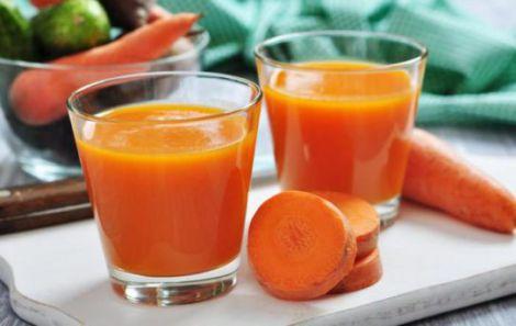 Морквяний сік - джерело вітамінів та еліксир молодості