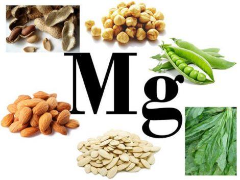 Багато магнію міститься у горіхах