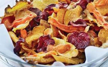овочеві чіпси корисні для здоров'я