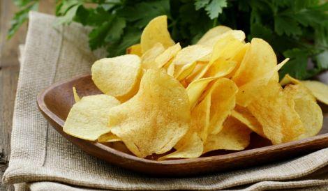 Шкідливі картопляні чіпси