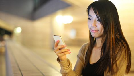 Травми через смартфони
