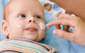 Обираємо дитячий крем
