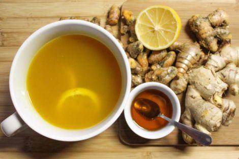 Напій для профілактики раку та захворювань печінки