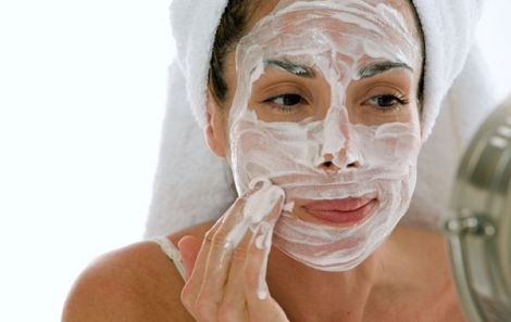 Кефірна маска для обличчя