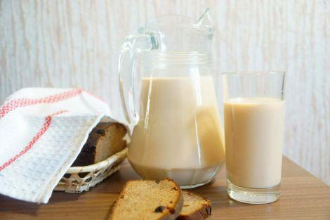 Пряжене молоко