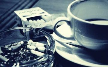 кава і цигарки є ворогами ваших зубів
