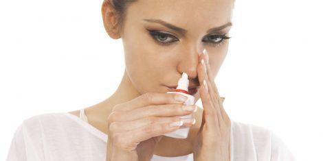 Використання спрею для носа