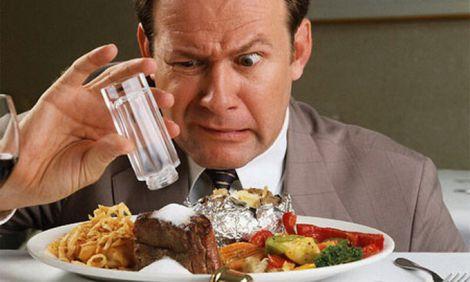 Вживання солоної їжі призводить до хвороб