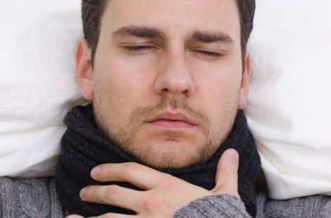 Народні методи проти болю в горлі