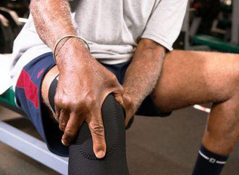 Біль в колінному суглобі