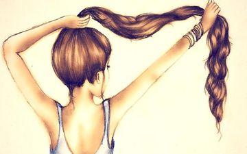 Для довгого волосся - гірчиця