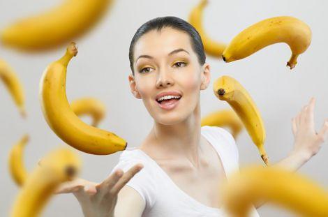 Бананова шкірка для обличчя