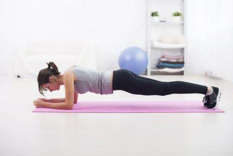 Планка покращує метаболізм