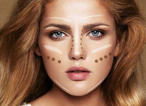 Вдалий макіяж допоможе покращити форму носа