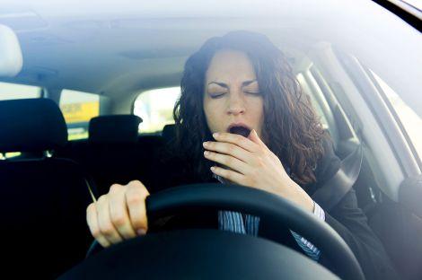 Сон за кермом автомобіля