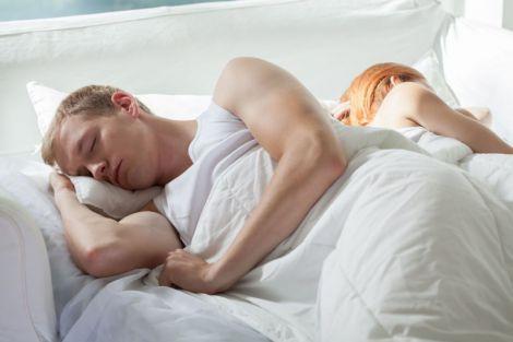 Чоловічий сон після сексу