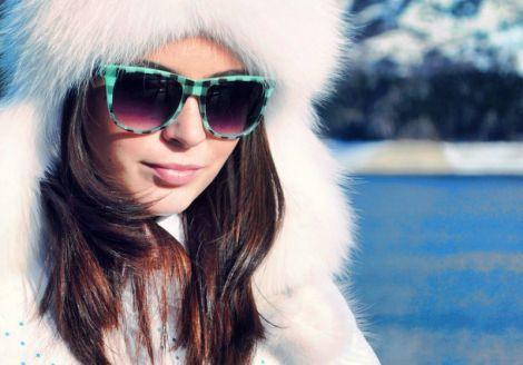 Сонцезахисні окуляри взимку