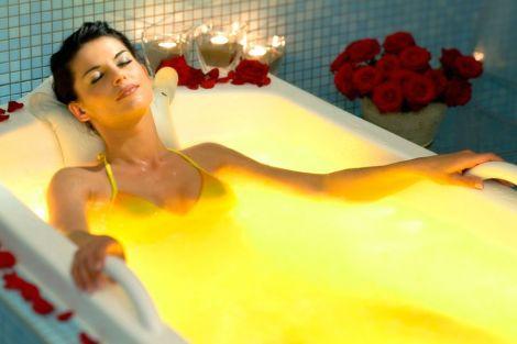 Тепла гірчична ванна