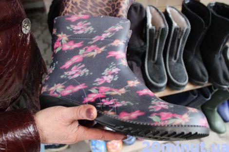 Обираємо гумові чоботи
