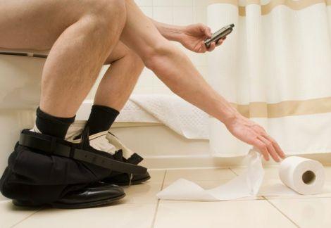 Речі, які не можна брати з собою в туалет