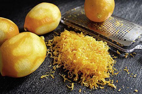Чим корисна цедра лимона?