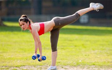 вправи з гантелями дозволять розвивати усе тіло
