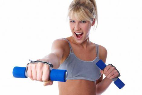 Вправи з гантелями для жінок (Відео)