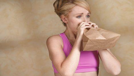 Дихати в пакет корисно