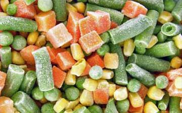 деякі овочі краще заморозити, ніж купувати їх не у сезон