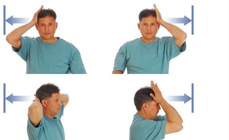 Ефективні вправи проти болю шиї