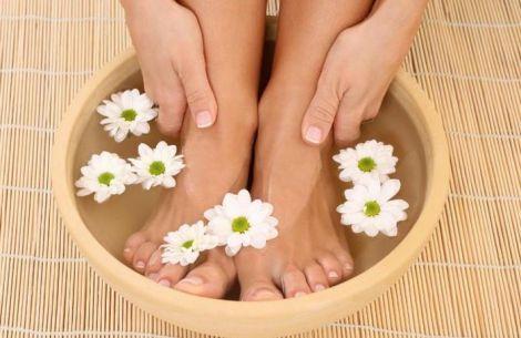 Ванночка для ніг для профілактики застуди
