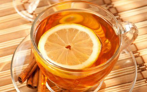 Чай з лимоном - напій довголіття