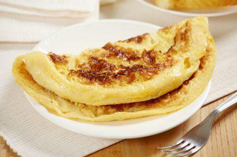 Омлет на сніданок для стрункого животика