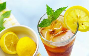 холодний чай врятує від спраги у спеку