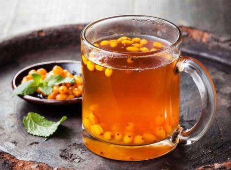 Смачний та корисний обліпиховий чай