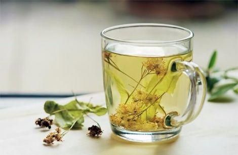 Липовий чай з медом